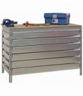 Banco de trabajo KIT SIMONWORK BT5 BOX6 1500 GRIS/MADERA