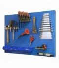 Panel de herramientas KIT PANELCLICK 1200x600 Azul. SIMONRACK