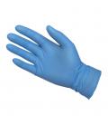 Guante desechable S07 azul 100 piezas