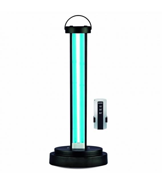 Lámpara desinfección negra 38W RSR