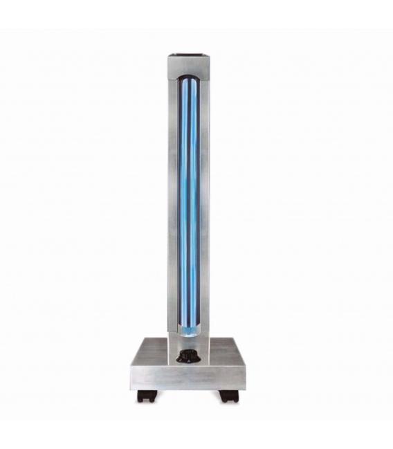 Lampara desinfección ultravioleta 150W - 150m2 UVC C / Timer Aluminio.