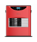 Estufa parafina eléctrica SRE 3130 Roja. QLIMA