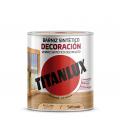 Barniz madera incoloro 4L TITANLUX Decoración