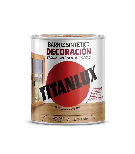 Barniz madera incoloro 4LT TITANLUX Decoración
