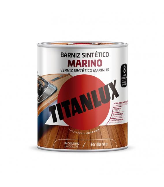 Barniz madera incoloro mod. marino M13100004 4 L. TITANLUX