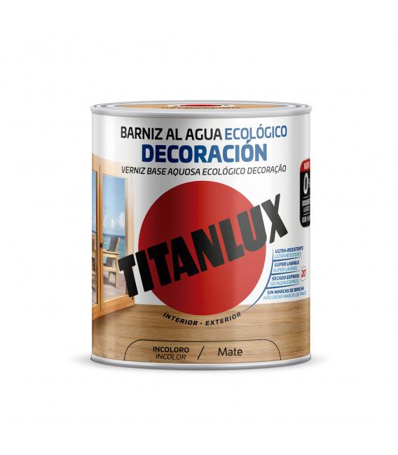 Barniz madera incoloro TITANLUX Decoración M22100025