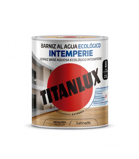 Barniz madera incoloro TITANLUX Intemperie