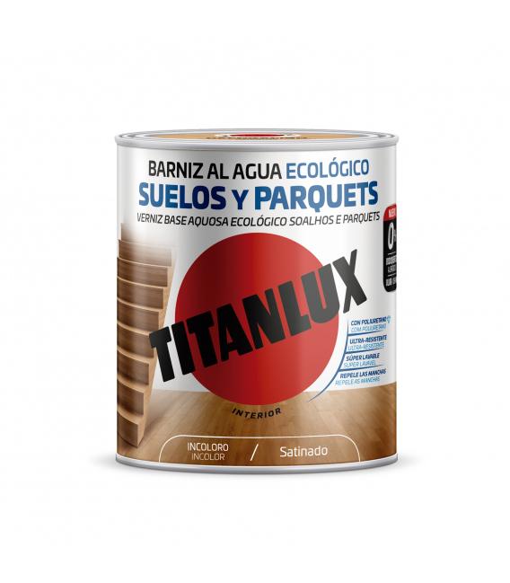 Barniz satinado incoloro 2.5lt TITANLUX Suelos y parquets