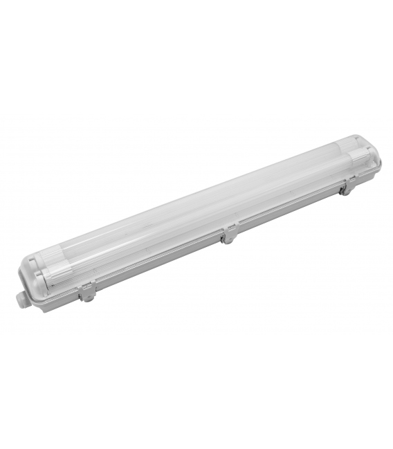 PANTALLA ESTANCA LED 2X9W IP65 65X9X7,5