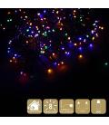 Luz LED navidad 8 funciones multicolor JUINSA