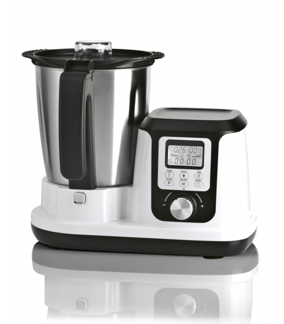 Robot de cocina Magchef White MGF4540  1200W jarra de acero inoxidable 3,3LT. MAGEFESA