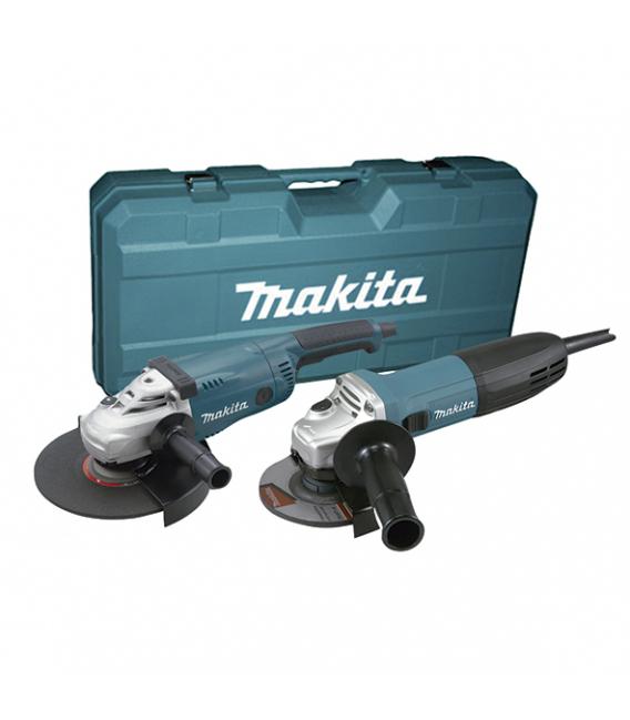 Kit amoladora 115 + 230 MAKITA GA4530R+GA9020S