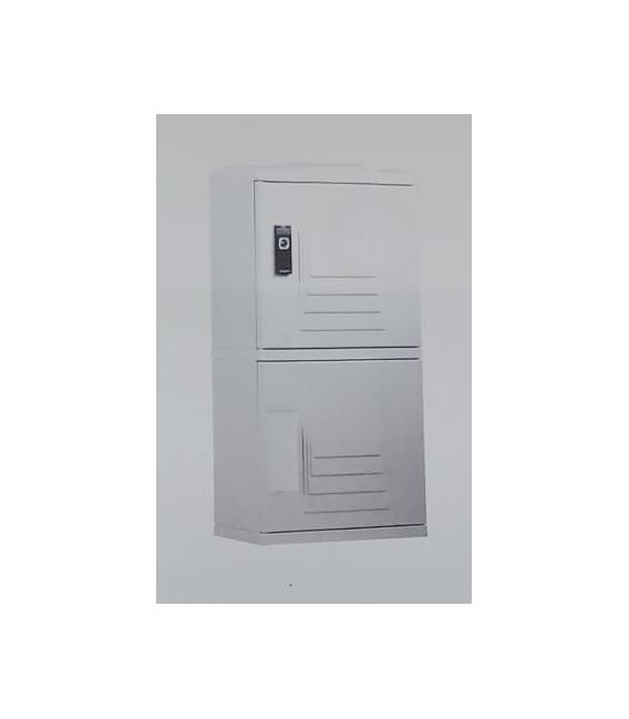 Buzón inteligente estándar con zócalo (150L) RAL 7035