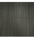 Mimbre ocultación antracita 1x3mts PVC NOVAGARDEN Eco