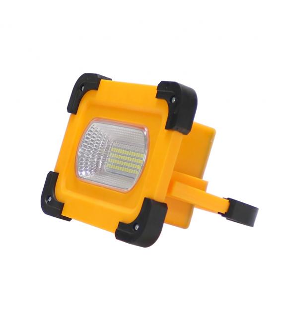 Foco proyector solar 30W LEDME