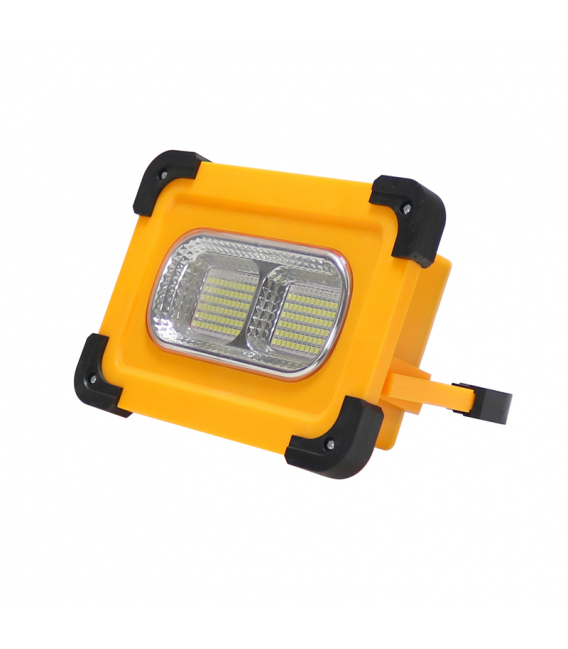 Foco proyector solar portátil 50W LEDME