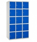 Taquilla metálica SIMONDOORS PROF. MON. 5 DOORS 3/15 400 (1200) GRIS