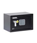 Caja fuerte seguridad con alarma 200x310x200 Negro. YALE