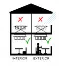 Tendedero de techo Largo 100cmEFEGETE Manual