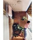 Tendedero de techo Largo 120cm EFEGETE Manual