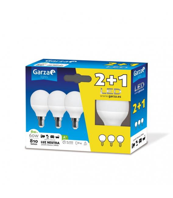 LAMPARA LED ESF. E14 8W 810LM
