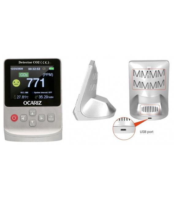 Medidor CO2 infrarrojo. OCARIZ