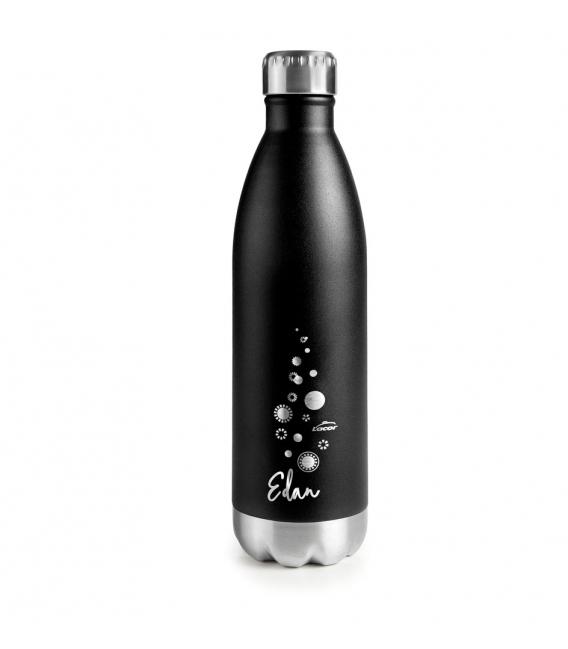 Botella acero inoxidable negro  750ML EDAN. LACOR