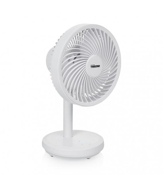 Ventilador climatización 16,5cm blanco plástico VE-5841. TRISTAR