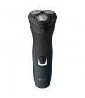 Afeitadora eléctrica recargable 3 cabezales negra S1131. PHILIPS