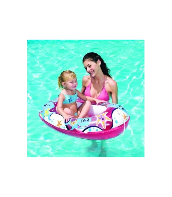 Barca hinchable infantil