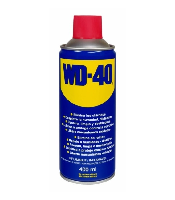 Lubricante multiuso doble acción WD-40