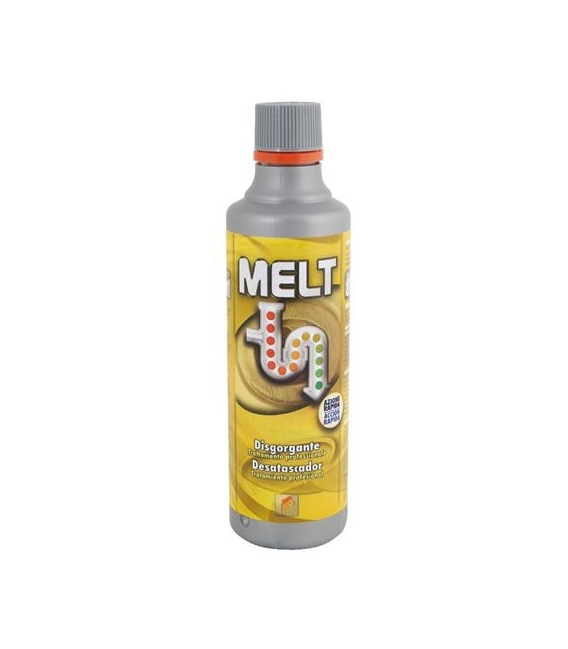 Desatascador liquido 1 LT. Profesional MELT acciòn rapida