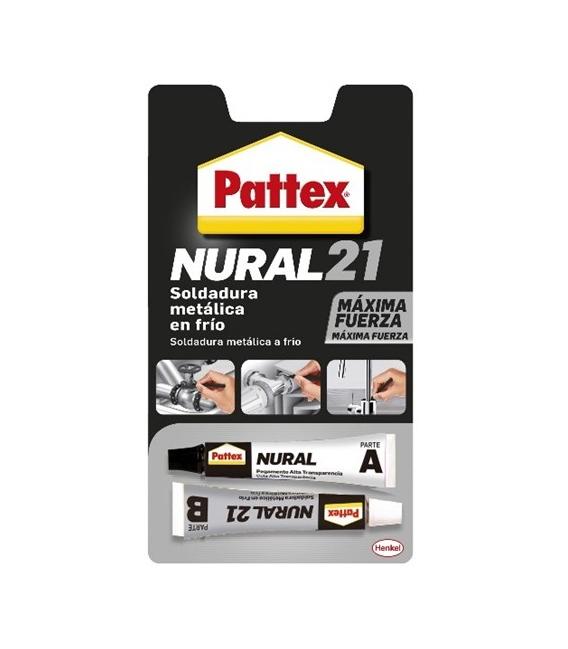Soldadura reparadora en frío Nural-21 PATTEX