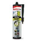 Adhesivo sellador pegado MS ULTRAFAST 290ML FISCHER