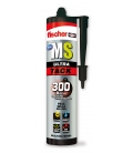 Adhesivo sellador pegado MS ULTRATACK 290ML FISCHER