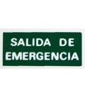 PLACA ADH SALIDA EMERG 297X150MM
