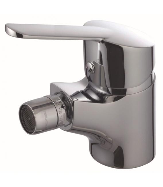 Grifo baño Bide 17x13x6,6cm monomando Laton Cromo S12 Urban. CLEVER