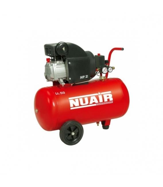 Compresor 50 L. Con aceite NUAIR RED L.