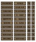 PLACA ADH QUINTO 290X080MM