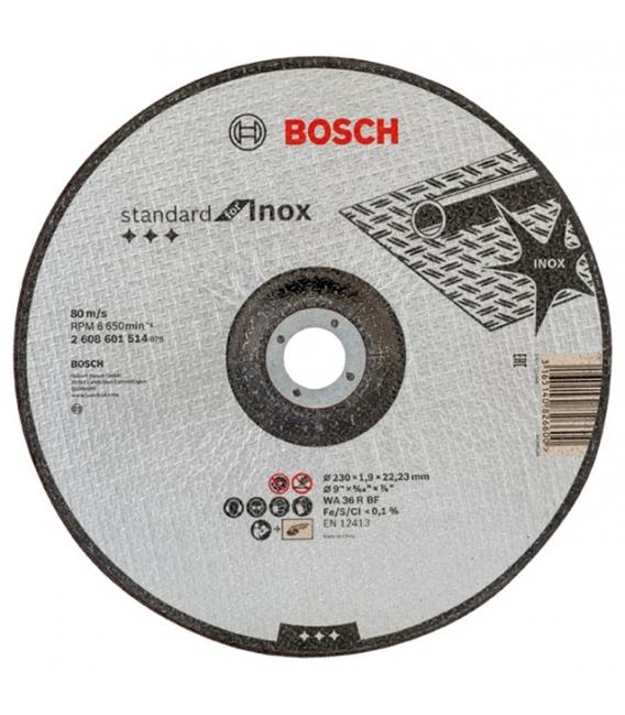 DISCO CORTE 230X1,9X22,23MM STANDARD