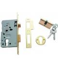 Cerradura embutir en madera 20x60mm TESA