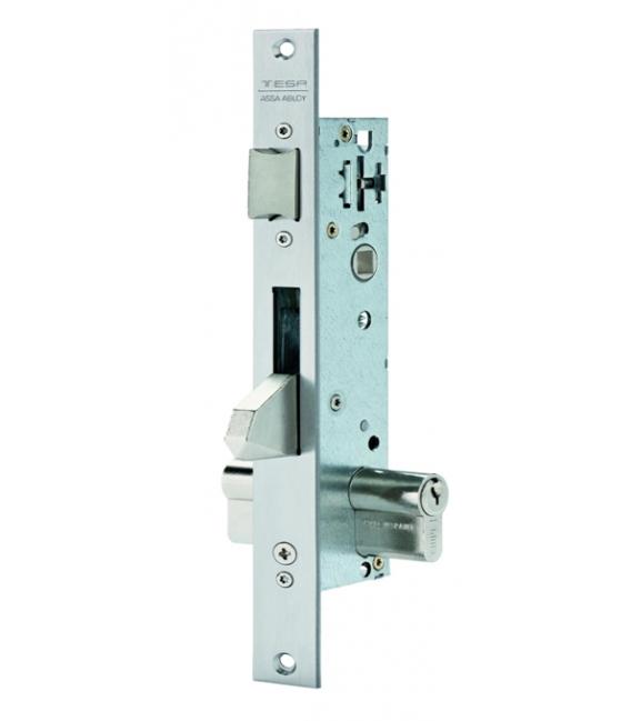 Cerradura Metálica Embutir 25x25mm Picaporte/Gancho. TESA