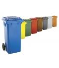 Contenedor basura azul 120 LT W-WEBER