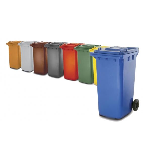 Contenedor de basura verde 2430lt W-WEBER