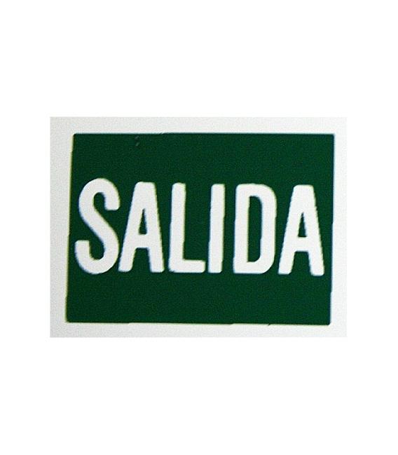 PLACA ADH SALIDA 297X210MM