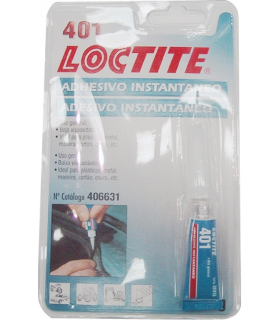 ADHESIVO INSTANTANEO 3 GR LOCTITE