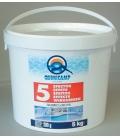 Tratamiento piscinas cloro 5kg QUIMICAMP