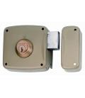 Cerradura sobreponer 120x60mm 5124AHE12D Hierro Esmaltado. LINCE
