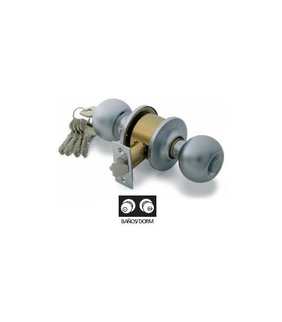 Pomo puerta 60mm latón pulido TESA 3902U0LP