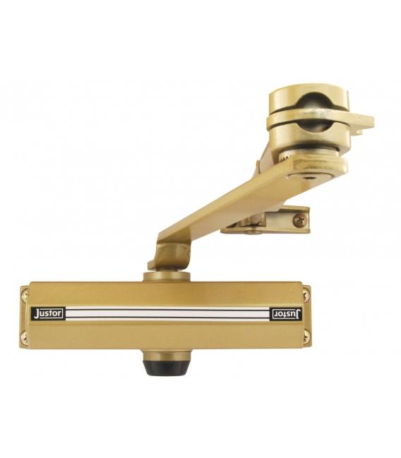 Cierrapuertas brazo reticular plata JUSTOR 1432.01